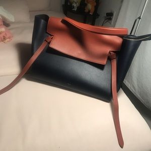 Celine large midnight belt bag, almost new